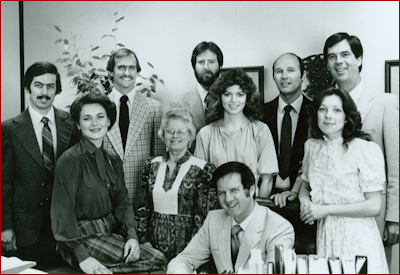 The GTY Staff in 1982