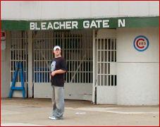 Bleacher gate
