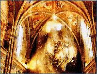 Falling frescoes
