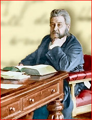 Spurgeon in his library